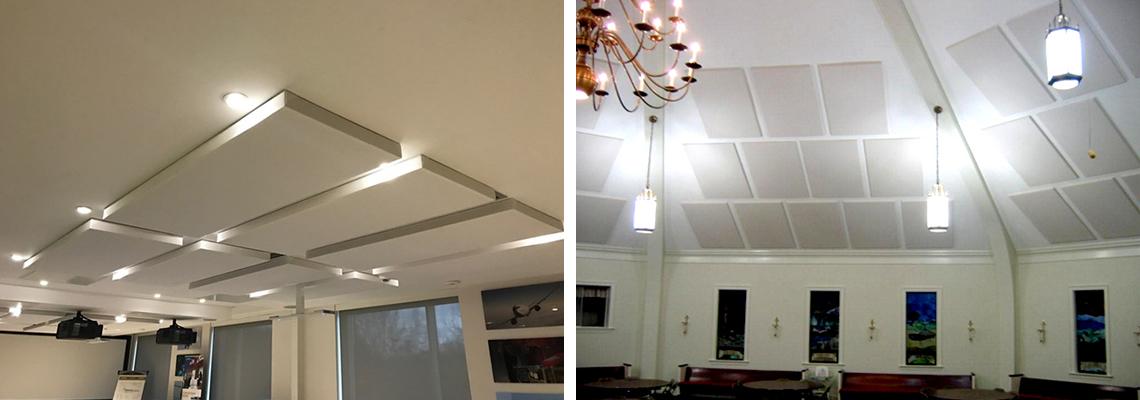 Kumaş Kaplı Akustik Tavan Panelleri