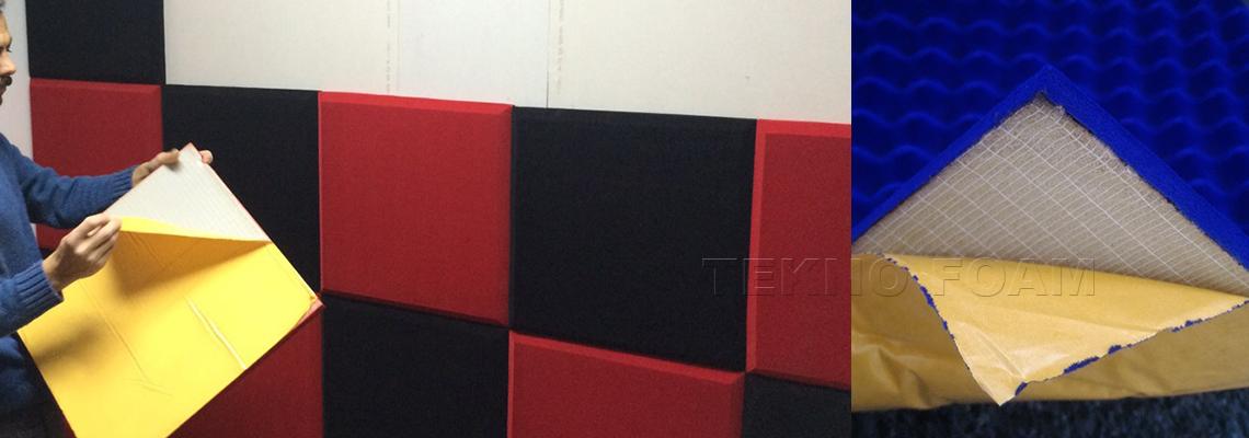 Kendinden Yapışkanlı Akustik Sünger Uygulaması